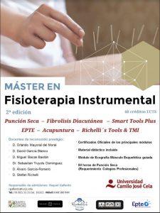 Máster en Fisioterapia Instrumental de la Universidad Camilo José Cela - Curso 2017/2018 @ Universidad Camilo José Cela (Madrid)